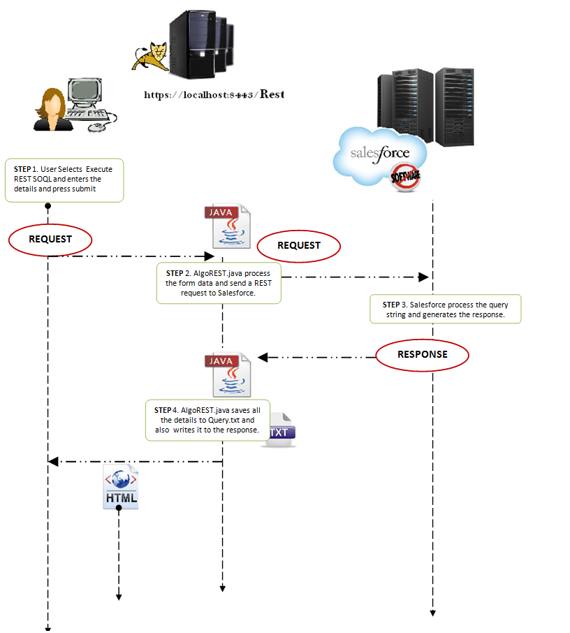 Salesforce REST integration JAVA Application | Ajay Dubedi