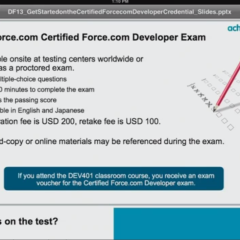 Salesforce Certified Developer Exam