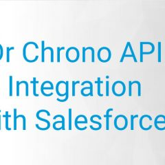 Salesforce™ Health Care Domain Project | API Integration with Dr. Chrono API