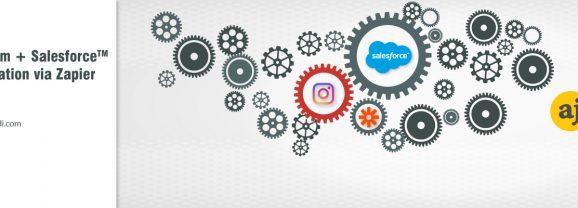 Integrate Instagram with Salesforce through Zapier