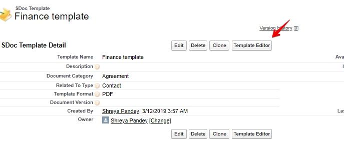 SDoc Template_ Finance template _ Salesforce - Developer Edition