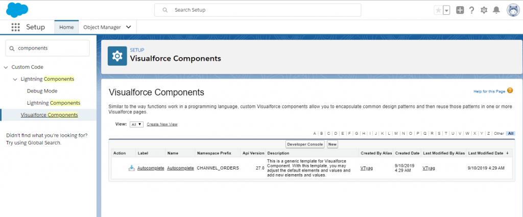 Visualforce Custom Components1
