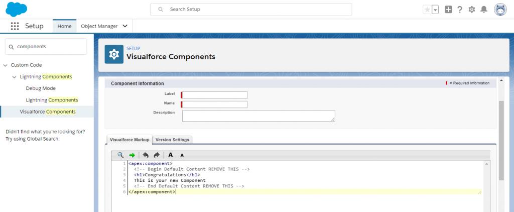 Visualforce Custom Components2