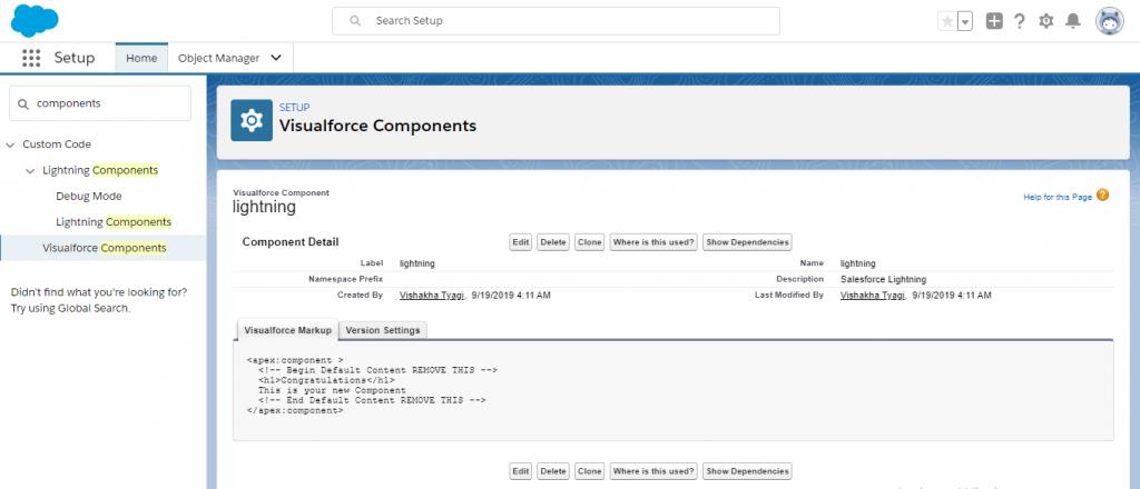 Visualforce Custom Components3